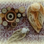 biżuteria quilling