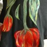tulipany filcowane