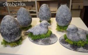 warsztaty powertex-efekt kamienia