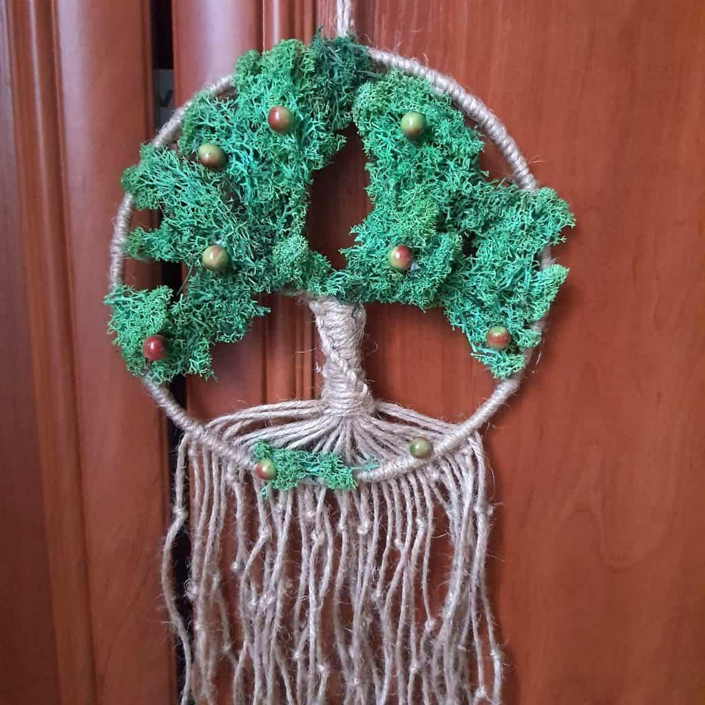 warsztaty makramowe drzewko