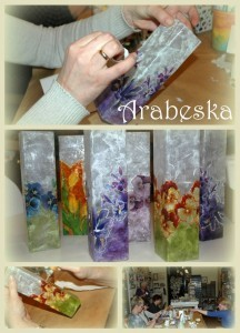 decoupage na szkle_colorinki_arabeska