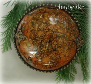 medalion z efektem bursztynu_tył_a